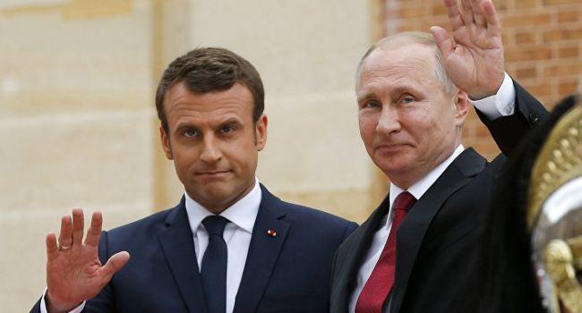Макрон с Путиным на днях обсудили ситуацию в Украине, не поставив в известность Зеленского ни до, ни после диалога