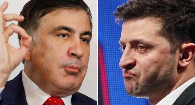 Саакашвили заявил, что уверен в Зеленском и его таки назначат на пост вице-премьера Украины