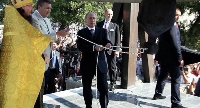Зеленский продолжит традицию по установке и освещению «колоколов Победы», которую начали еще Путин и Янукович в 2013-м году