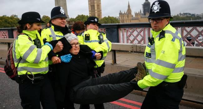 В Лондоне протесты против коронавируса плохо закончились для активистов