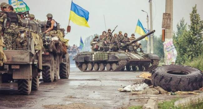 Боевики из-за спин женщин и детей расстреляли украинских военных на Донбассе