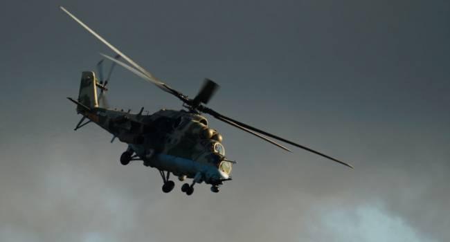 «Люди выпрыгивали на лету»: В Индонезии разбился военный вертолет, есть жертвы