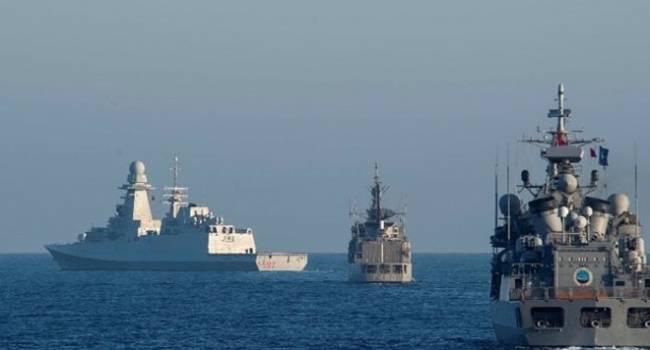 «Будут уничтожать «Северный поток-2»?»: Альянс направил 4 боевых корабля к месту строительства «СП-2»