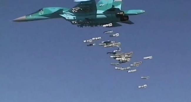 ВКС России в Сирии уничтожают все живое: Авиация Путина нанесла сокрушительные авиационные удары