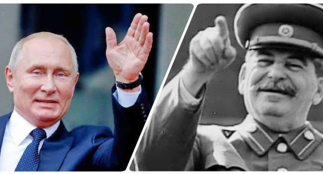 Эйдман: Путин воспринимает себя как новое воплощение Сталина, и хочет совершить путешествие во времени, чтобы попасть в 1945 год