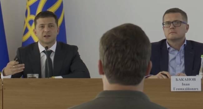 Березовец: Владимир Александрович, самое время звонить Баканову и пожаловаться на «этого ч*рта» Медведчука
