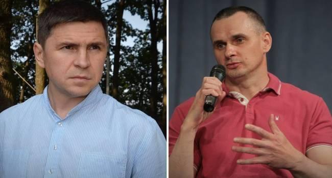 Политолог: комментарии о Сенцове советника ОП Подоляка – это государственная политика власти Зеленского