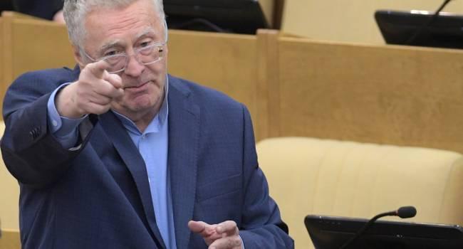 «Русские – да. А где украинцы?»: Жириновский резко ответил Гордону на его заявление о Киеве