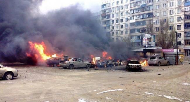 «Месиво под Мариуполем»: Боевики пошли в атаку. Жестко гупают по укреплениям ВСУ
