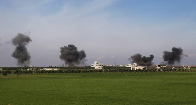 Наемники РФ уничтожили базу Турции в Сирии