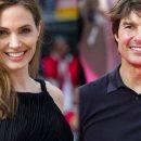 Западные таблоиды приписали Анджелине Джоли роман с Томом Крузом