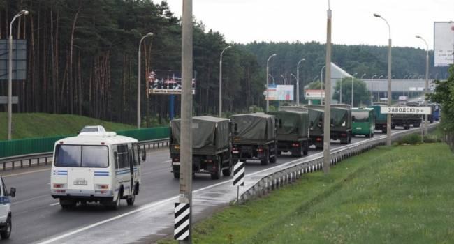 Политолог: танки и военная техника на улицах Минска настораживают