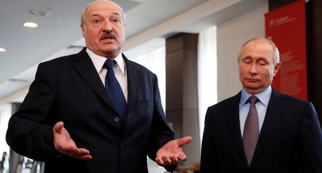Политолог объяснил, почему Путин молниеносно бросился поздравлять Лукашенко с победой