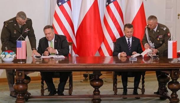 США расширит военный контингент в Польше, подписано соглашение