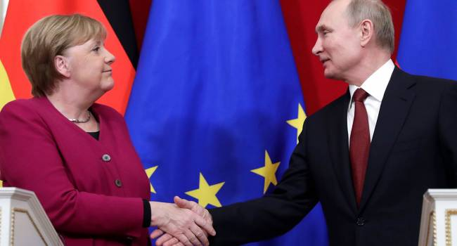 Политолог: Меркель нажала на Путина полной заморозкой «Северного потока-2», пришлось выпустить Навального
