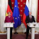 СМИ: Меркель стала жестче относиться к России из-за отравления Навального