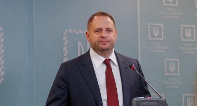 Доник: Ермак ездил в Берлин, чтобы согласиться на все условиях русских, лишь бы до выборов на Донбассе не начали стрелять