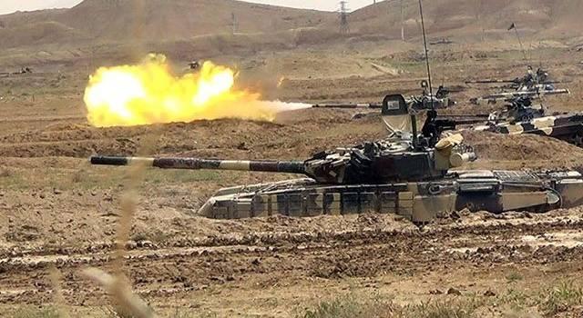Азербайджан показал беспощадные кадры уничтожения ЗРК «Оса» сил Армении