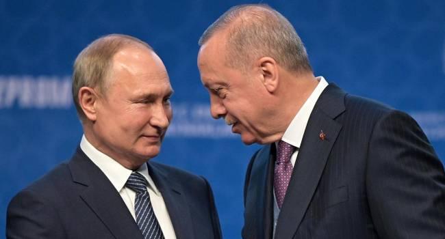 На Кавказе Путин может позволить себе играть в более долгосрочную игру против Эрдогана - СМИ