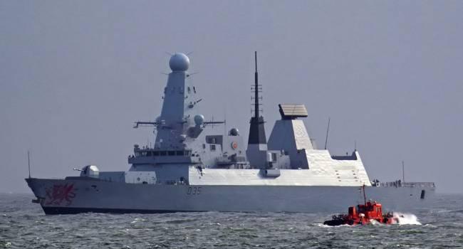 «Паника в Кремле»: Бойцы ВСУ показали ракетоносец ВМС Великобритании, который зашел в Черное море и вызвал у РФ ужас