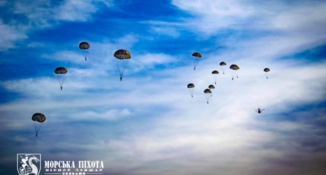 В Донецкой области высадился десант морской пехоты ВСУ