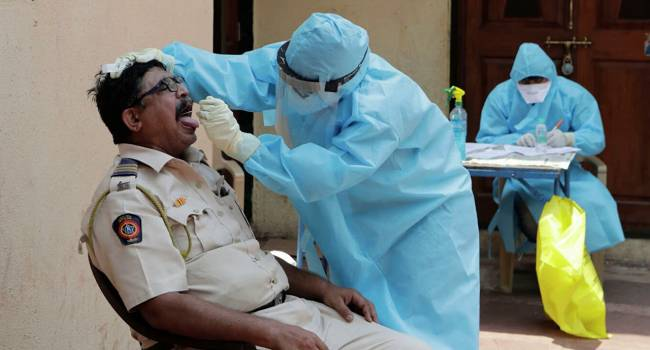 Индия установила рекорд по количеству проведённых тестов на коронавирус за сутки