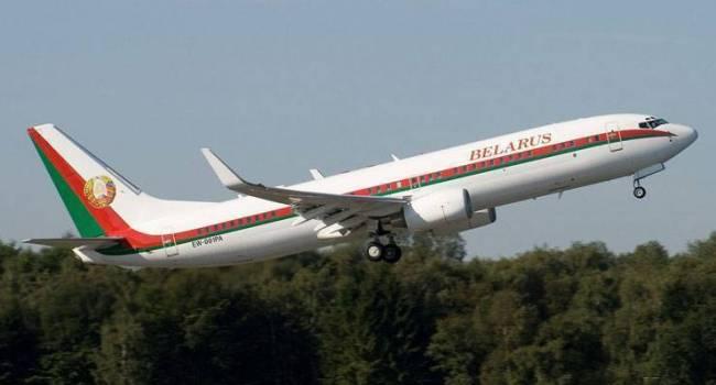 «Потому что он самозванец»: В Германии не стали обслуживать самолет Александра Лукашенко