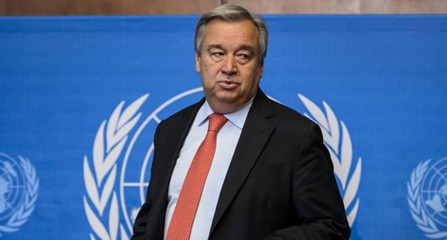 Гутерреш прокомментировал срыв перемирия в Нагорном Карабахе