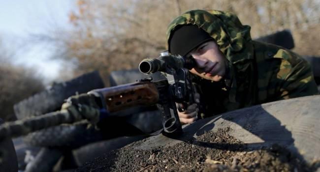 «Они их уничтожили…»: Снайпера «ДНР» устроили стрельбу по ВСУ у Горловки