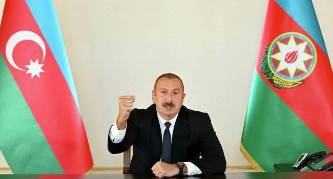 Азербайджан продолжает настойчиво освобождать Карабах от Армении