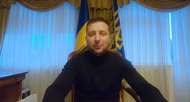 Зеленский записал новый ролик с ВИП-палаты: желает вам всем здоровья и выдержки на карантине