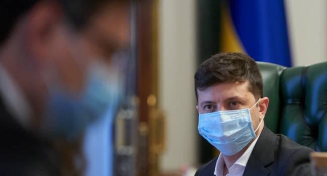Политолог: главная проблема, которая проявилась в разгар пандемии, в том, что Зеленский подорвал веру в государство как институт