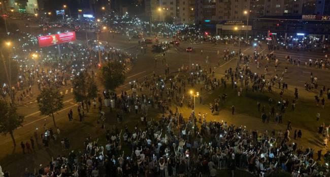 Протесты в Беларуси: Силовики за день задержали порядка 400 демонстрантов