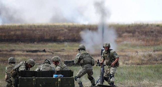 ВСУ на Донбассе уничтожили очередную «птичку» российско-оккупационных войск