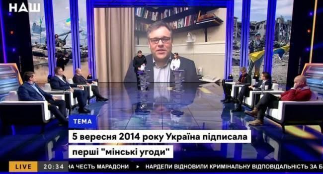 Канал Мураева «Наш» включил в прайм-тайм представителя луганских боевиков, который назвал украинцев «недорасой»