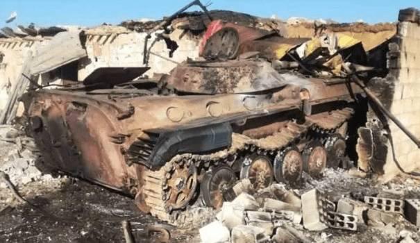 Артиллерия Турции уничтожила российскую военную технику в Сирии