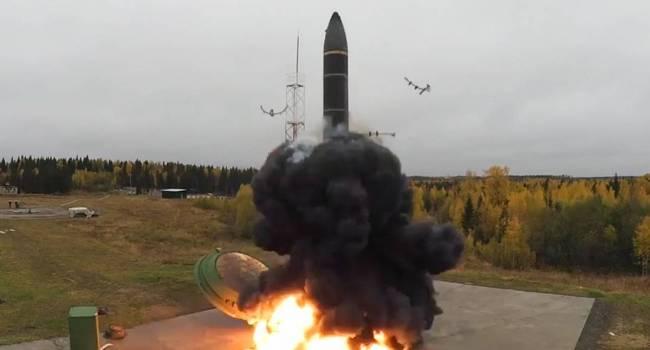 «Нанесение ядерных ударов»: Россия произвела пуски межконтинентальных баллистических ракет