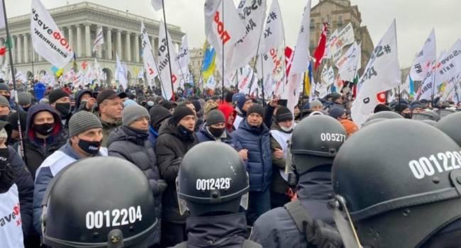Телеведущая: избивают людей те же самые менты, что и на Майдане 2013-го