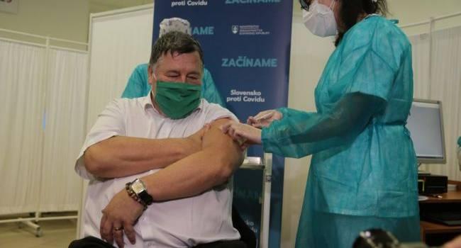 Словакия начала вакцинацию населения от коронавируса