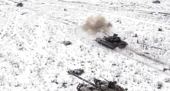 Танкисты ВСУ отразили «атаку» противника в Луганской области