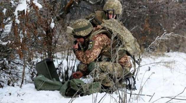 Оккупанты на Донбассе два раза нарушили режим «тишины», открыв огонь вблизи Водяного и Гнутово