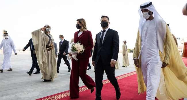 Настораживающее совпадение: Зеленский пулей вылетел в Эмираты после того, как туда же вылетел самолет Козака-Медведчука