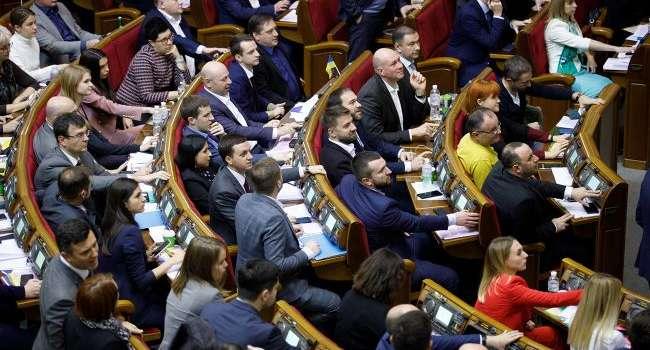 Депутаты Рады призвали мир к усилению антироссийских санкций за оккупацию Крыма