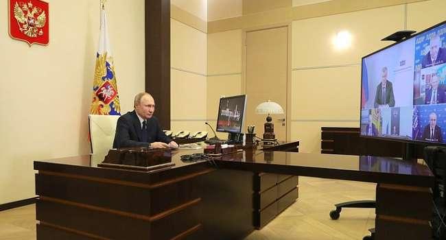 Запад создает свой «геополитический проект» в Украине: Путин нашел причину блокировки каналов Медведчука и «Северного потока-2»