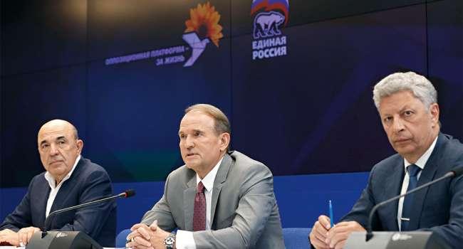 Политолог: «ОПЗЖ» последние полгода не занималась политикой, а занималась продажей пропаганды в обмен на развитие бизнесов четы Медведчуков