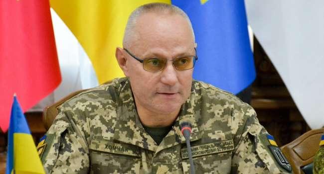 «Будет война?»: Готовим войска ко всем вариантам развития ситуации на Донбассе – Хомчак