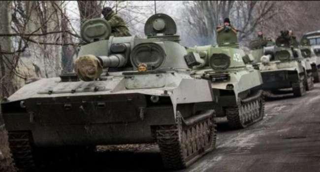 За шаг до полномасштабной войны: Боевики «ДНР» стягивают бронетехнику к линии разграничения