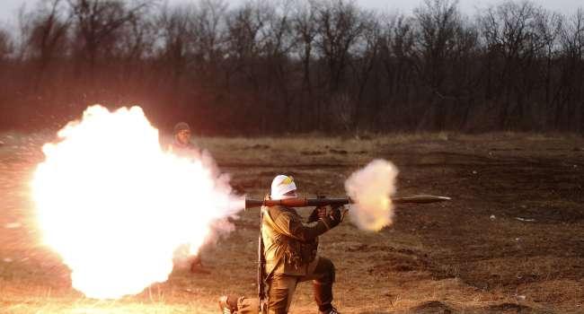 Стрелковое оружие и гранатометы: В штабе ООС сообщили об обстановке на Донбассе