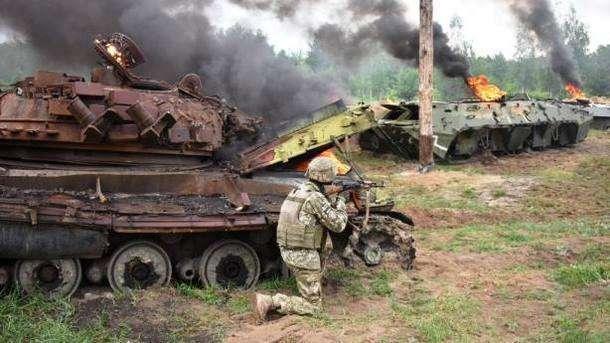 Боевики пошли в атаку на Донбассе, но тут же получили достойный ответ от ВСУ