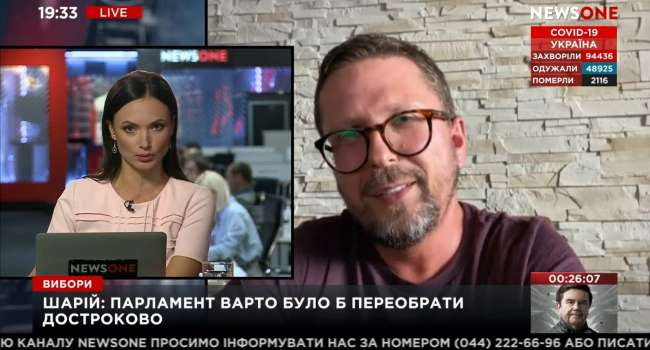Политолог: Шарий и Медведчук является частью одной российской агентурной сети